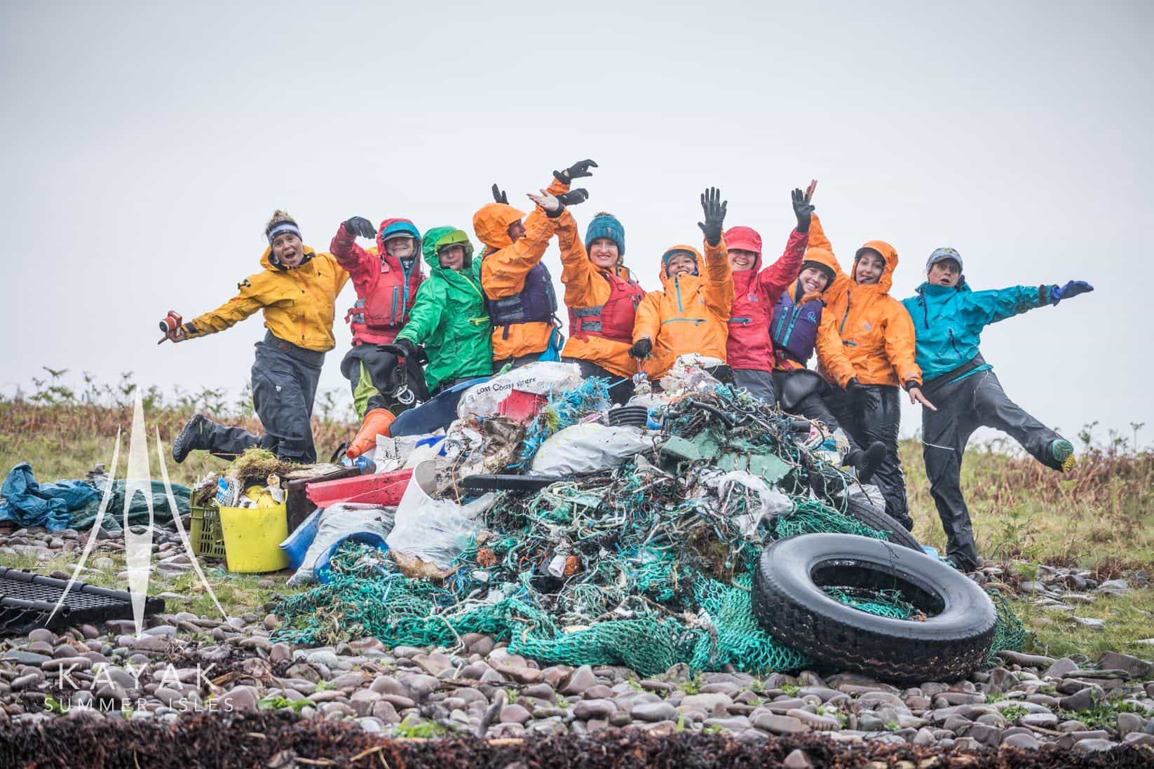clare Osborn paddle cleanup