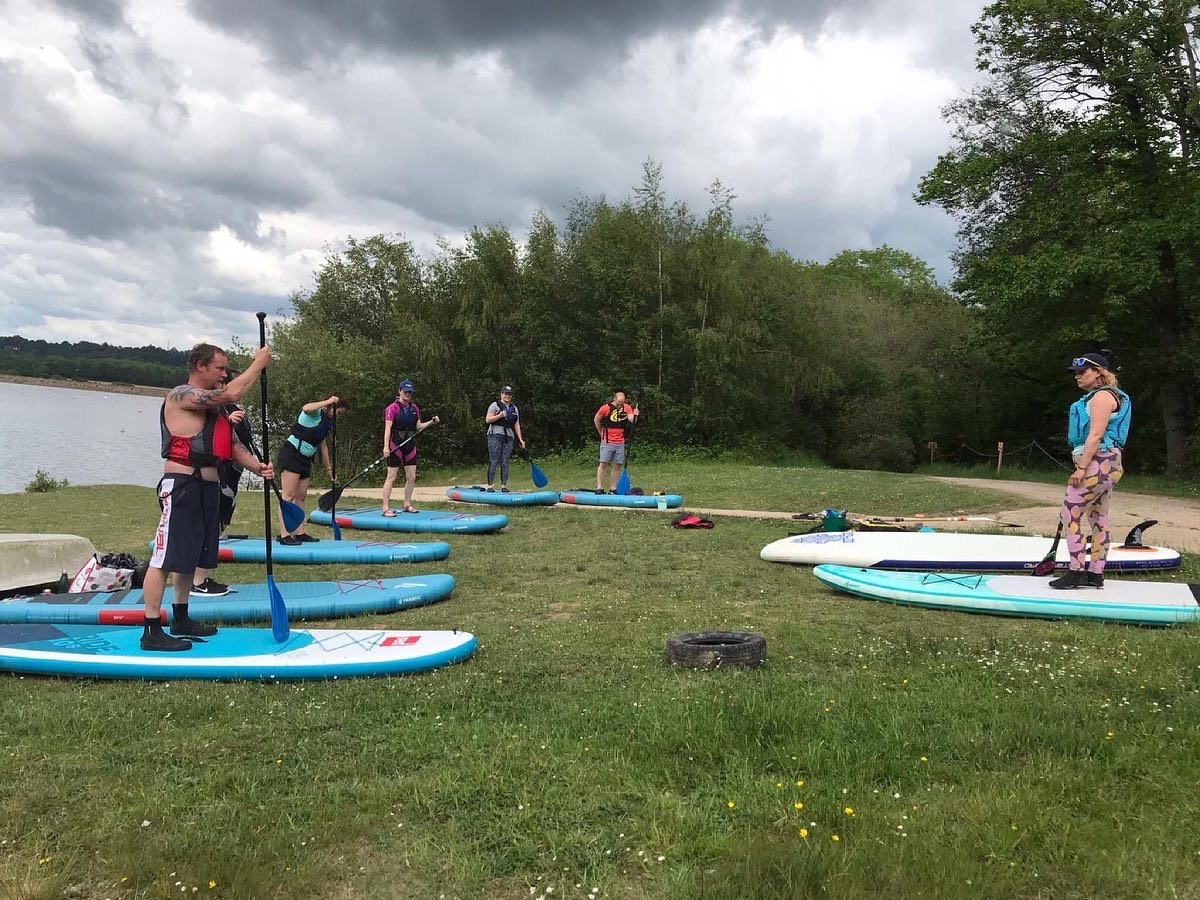 paddle boarding Sussex